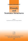Prosody and Sentence Structures